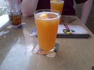 The 1st thing we did in Phoenix was get Addie his favorite beer Blue Moon Belgian Pale Ale known as Rickard's White here in Canada. Addie drank enough to be sick the rest of the weekend.