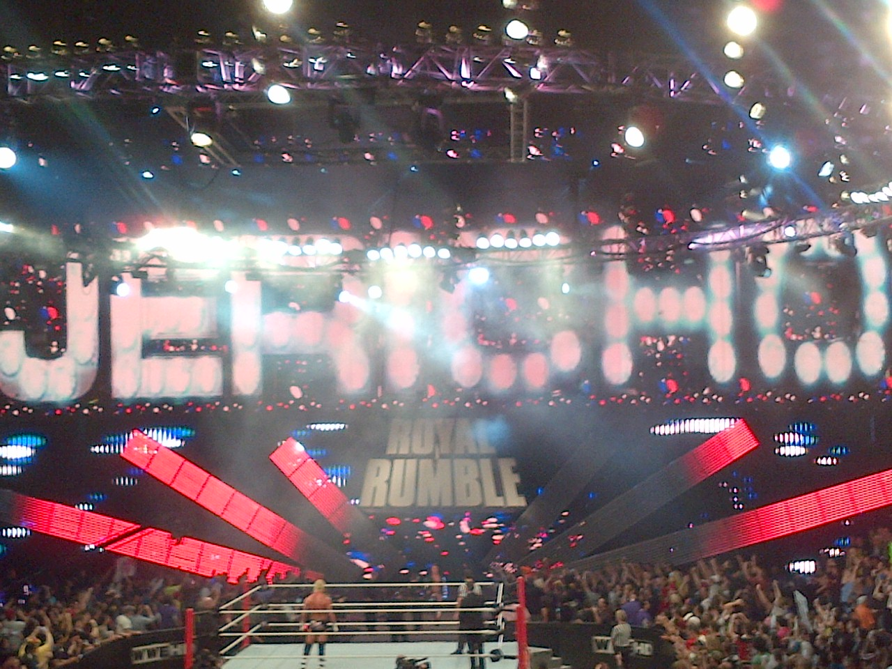 To say the place came unglued when Chris Jericho made his surprise return does it nowhere the justice it deserves