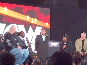 The WCW Panel with Big Show, Booker T, X-Pac and Kevin Nash, hosted by Matt Striker. Really more of an NWO Panel, or as Addie constantly reminded Mo, a P-Anal