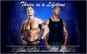 John Cena VS The Rock - Thrice in a Lifetime