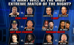 Extreme Rules 2013 - What Will Be The Most Extreme Match of The Night