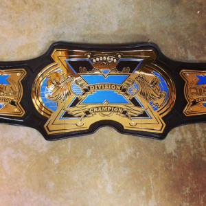 New X-Division Title Belt in 2013