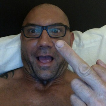 Dave Bautista Responds To Rumor About WWE Return