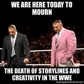 The WWE in 2013