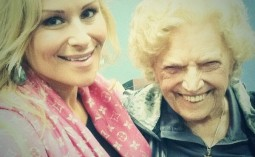 Nattie Neidhart and Mae Young