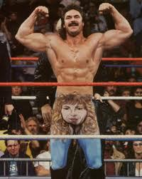 Rick Rude in all his full mullet glory