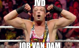 Remember when JVD - Job Van Dam was a star like Cena