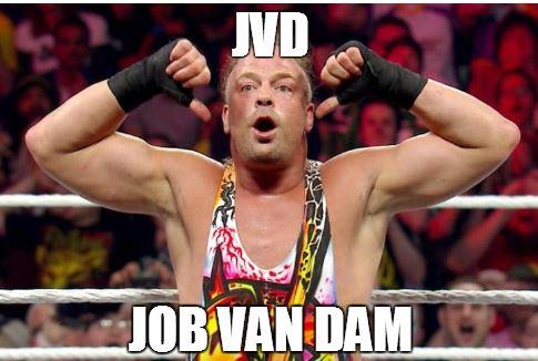 Remember when JVD - Job Van Dam was a star like Cena
