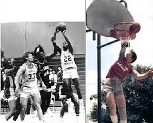 The earliest evidence of Calaway's size and athletic ability was on the Basketball court, where he played for the Texas Wesleyan University Rams.