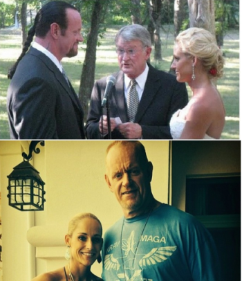But luckily the 3rd time's the charm. Mark Calaway and WWE diva Michelle McCool married in 2010.