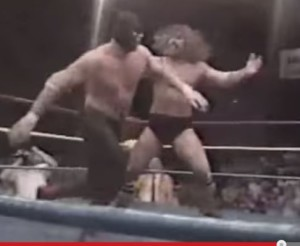 While still in University he debuted as Texas Red for World Class Championship Wrestling. Unfortunately this was his very first ever match against the awesome Bruiser Brody