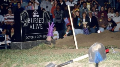 2 months later at the Buried Alive PPV The Undertaker would get the victory over Mankind, but after being jumped by Terry Gordy as The Executioner Taker would still end up in the grave in what was billed as the first ever unsanctioned match in WWF history.