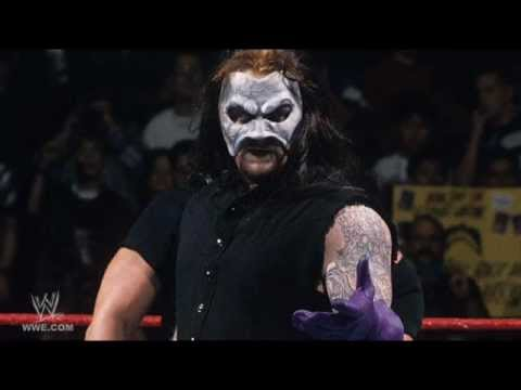 Seriously, this Phantom of the Opera mask on The Undertaker was a misstep, but at least it led to giving us the Mankind and original Kane mask.