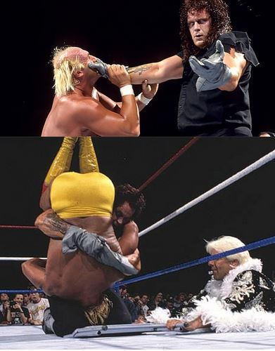 One year after his debut, at Survivor Series 1991, The Undertaker won the title from Hulk Hogan with a little help from Ric Flair,