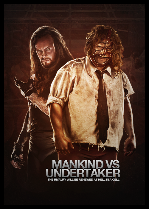 mankind_vs__undertaker_by_kaygeedee-d54wrsj