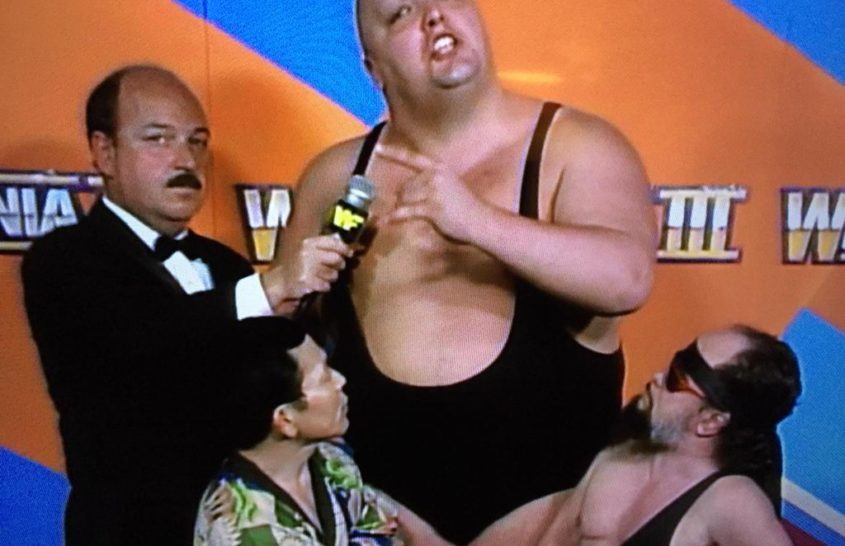 The time Mean Gene interviewed Mo, Hideo Itami, and Lord Littlebrook