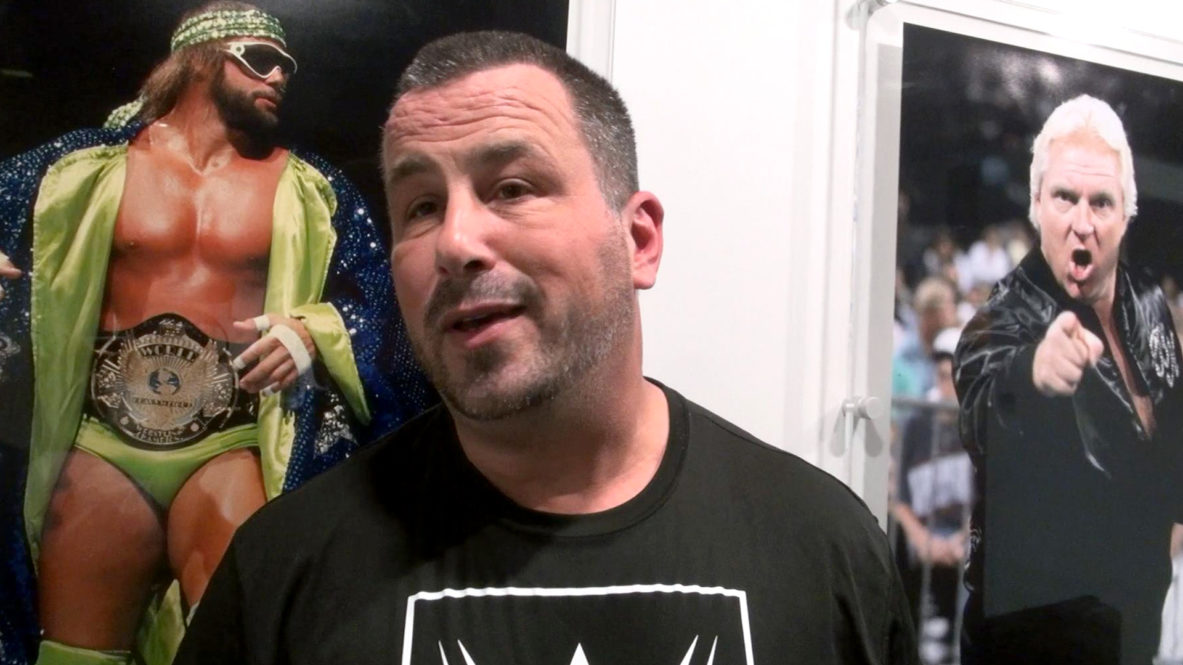 Steve Corino tries out at the WWE Performance Centre