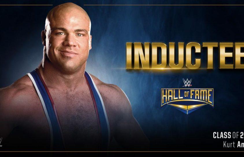 Kurt Angle Headlines the 2017 WWE Hall of Fame Class